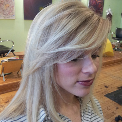 best salon in chicago for a blonde cut and color